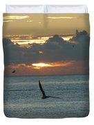 Sunrise In The Florida Riviera Duvet Cover