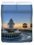 Sunrise In The Lowcountry Duvet Cover