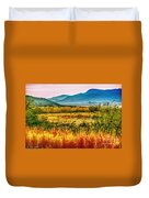 Sunrise In Verde Valley Arizona Duvet Cover