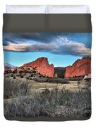 Sunrise Of The Gods Duvet Cover
