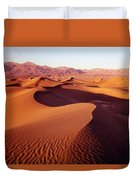 2a6856-sunrise On Death Valley Duvet Cover