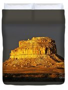 Sunrise On Fajada Butte Duvet Cover