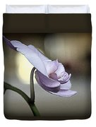 In Silence I Stand Duvet Cover