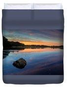 Sunrise On Little River Duvet Cover