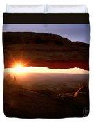 Sunrise On Mesa Arch Duvet Cover