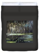 Sunrise On The Bayou Duvet Cover