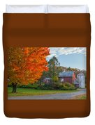 Sunrise On The Farm Duvet Cover