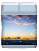 Sunrise On The Horizon Duvet Cover