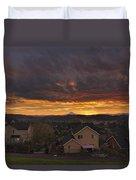 Sunrise Over Happy Valley Duvet Cover
