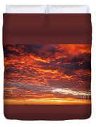 Sunrise Over Ireland Duvet Cover