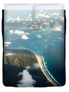 Sunrise Over Paradise Duvet Cover