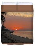 Sunrise Over The Horizon Duvet Cover