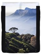 Sunrise Over The Majestic Western Ghats Duvet Cover