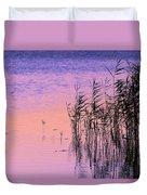 Sunrise Reeds Duvet Cover