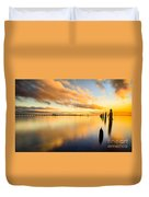 Sunrise Reflections Duvet Cover