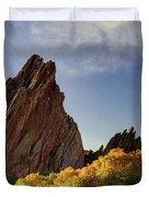 Red Rock Duvet Cover