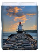 Sunrise Spring Point Ledge Duvet Cover