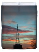 Sunrise Windmill Duvet Cover