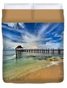 Sunscape Sabor Pier Duvet Cover