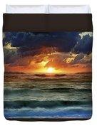Sunset 12 Duvet Cover