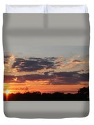 Sunset -2013-09-21 Duvet Cover