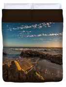 Sunset At Crystal Cove 12 Duvet Cover