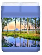 Sunset At Sweet Springs Duvet Cover