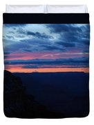 Sunset At The Grand Canyon Duvet Cover