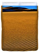 Sunset At The Great Sand Dunes National Duvet Cover