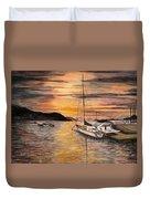 Sunset Bay Duvet Cover