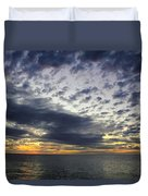 Sunset Beach Hawaii Duvet Cover