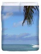 Sunset Beach Oahu Hawaii Duvet Cover