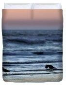 Sunset Birds Duvet Cover