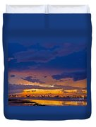 Sunset By The Bay Duvet Cover