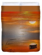 Sunset Charm, 30 Landscape Wall Art Painting Pack  Sunset-sunrise, Evening, Sea, Water, Ocean Etc  Duvet Cover