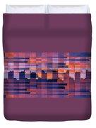 Sunset City Duvet Cover