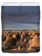 Sunset City Of Rocks Duvet Cover