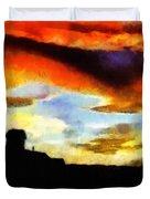 Sunset Colours Duvet Cover