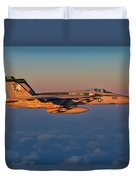 Sunset Cruise Duvet Cover