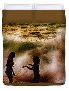 Sunset Dance Duvet Cover