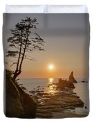 Sunset De Agave Duvet Cover