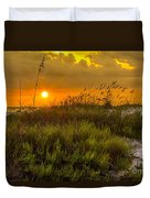Sunset Dunes Duvet Cover by Marvin Spates