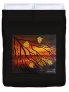 Sunset Duvet Cover by Elena  Constantinescu