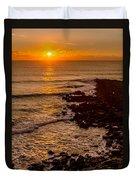 Sunset Far Away Duvet Cover