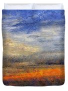 Sunset Field Duvet Cover