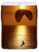 Sunset Flight Duvet Cover