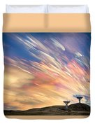 Sunset From Another Planet  Duvet Cover