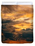 Sunset Grandeur Duvet Cover