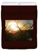 Sunset Grass 1 Duvet Cover