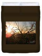 Sunset Grass 2 Duvet Cover